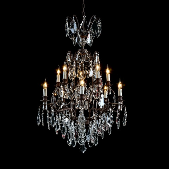 Baroque chandelier
