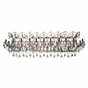 CRYSTAL RECTANGULAR CHANDELIER