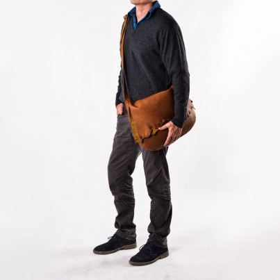 Blake Messenger Bag - Aquapelle Nutmeg