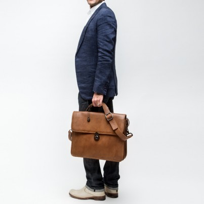 Briefcase - Savage leather
