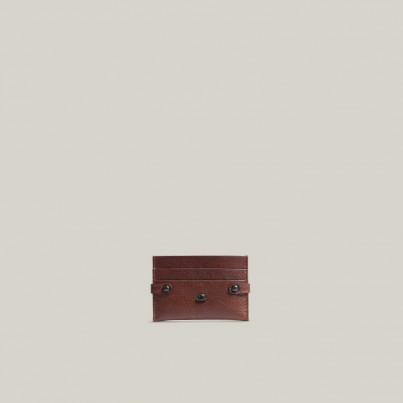 Bull Leather Card Holder