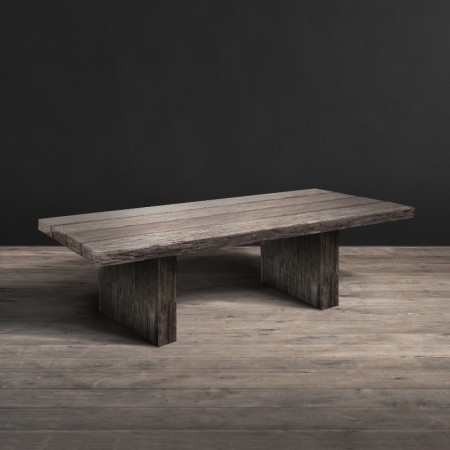 4 Beam dining table