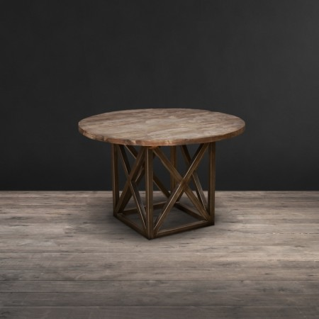 Dining Table - Genuine Reclaimed Vintage Wood, Natural