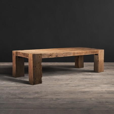 English Beam dining table