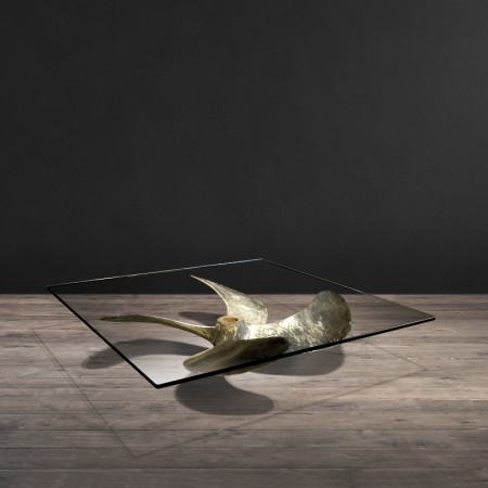 Junk Art Propeller coffee table