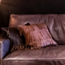 Timothy Oulton Fringe Cushion Jessie