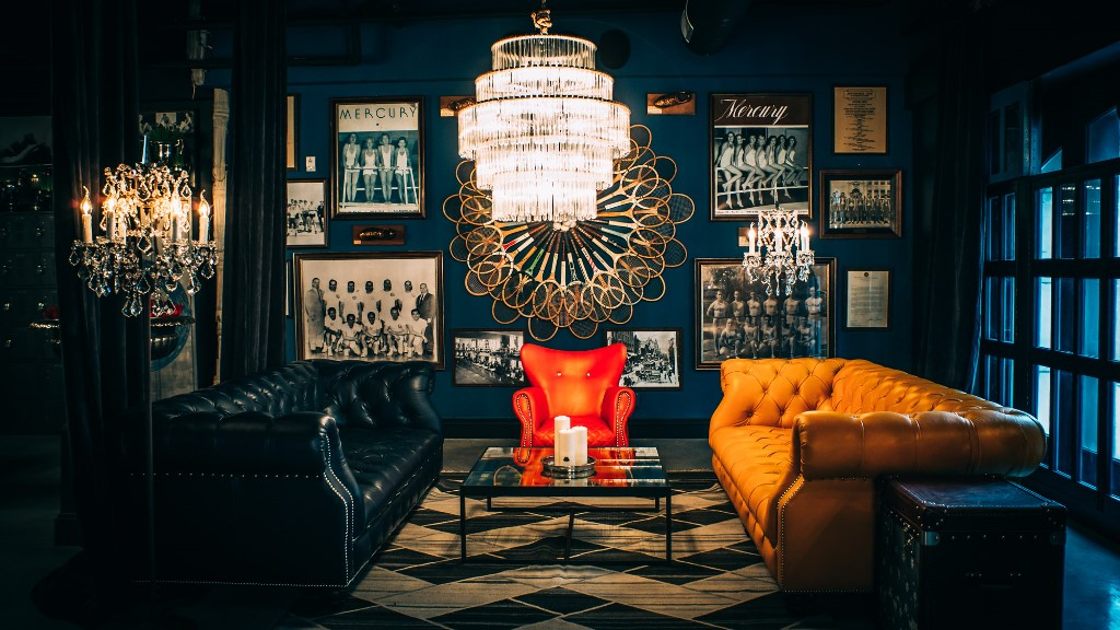 The Blue Room At Los Angeles Athletic Club Timothy Oulton